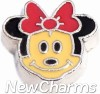 H9741 Minnie Face Floating Locket Charm