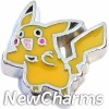 H9846 Pokemon Pikachu Floating Locket Charm