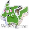 H9847 Pokemon Green Floating Locket Charm