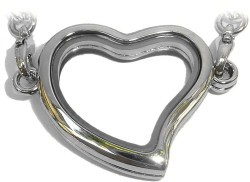 Curvy Heart Necklace