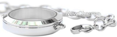 Stainless Steel In-Line Lockets