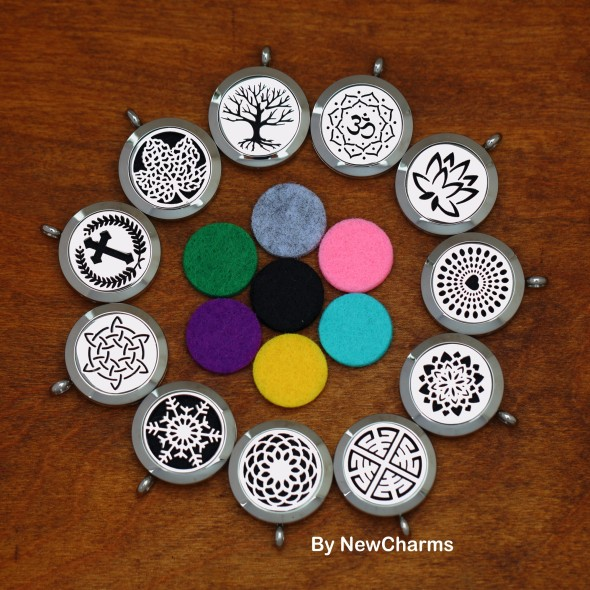 Alloy Floating Living Lockets