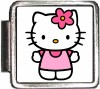 A10382 Pink Hello Kitty Italian Charm