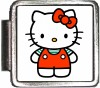 A10383 Red Hello Kitty Italian Charm