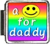 A10128 a smile for daddy Italian Charm