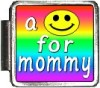 A10129 a smile for mommy Italian Charm