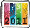 Colorful 2011 Custom Photo Italian  Charm