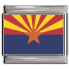 Arizona Flag Italian Charm