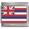 Hawaii Flag Italian Charm