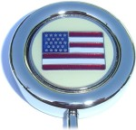 US FLAG PURSE HANGER