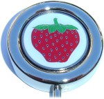 STRAWBERRY PURSE HANGER