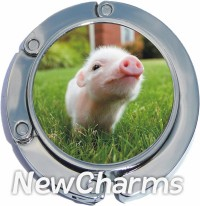 PH9045 Baby Pig Foldable Purse Hanger