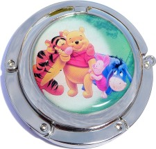 PH8040 Pooh and Friends Foldable Purse Hanger