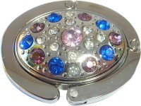Colorful Stones Oval Purse Hanger
