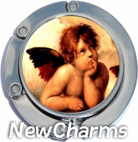 CHERUB PHOTO PURSE HANGER