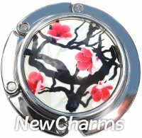 PH9007 Japanese Cherry Blosom Foldable Purse Hanger