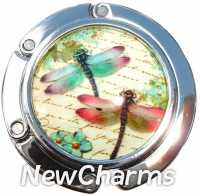 PH9016 Dragonflies Foldable Purse Hanger