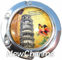 PH9018 Leaning Tower Of Pisa Foldable Purse Hanger