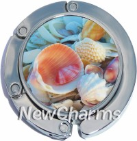 PH9036 Seashells Ocean Foldable Purse Hanger