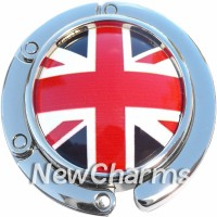 PH9039 Union Jack British Flag Foldable Purse Hanger