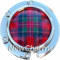 PH9041 Plaid Tartan Foldable Purse Hanger