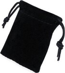 Velvet Pouches for Our Foldable Purse Hangers