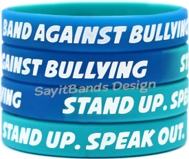 Band Against Bullying Anti Bullying Wristbands