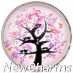 GS132 Cherry Blossom Tree Snap Charm