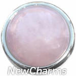 GS509 Rose Quartz Snap Charm