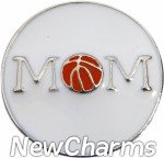 GS517 Basketball Mom Snap Charm