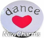 GS527 Love Dance Snap Charm