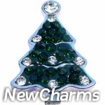 GS533 Christmas Tree Snap Charm