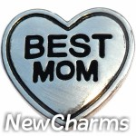 GS632 Best Mom Snap Charm