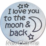 GS659 To the Moon and Back Snap Charm