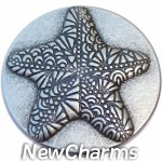 GS665 Starfish Snap Charm