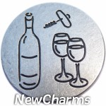 GS666 Sharing Wine Snap Charm