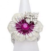 Fuchsia Butterfly Kisses Ring