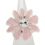 Pink Daisy Ring