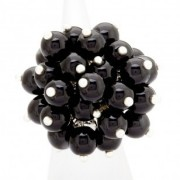 Black Party Balloons Ring