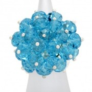Blueberry Rock Candy Ring