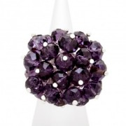 Grape Rock Candy Ring