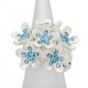 Skyblue Bouquet Ring